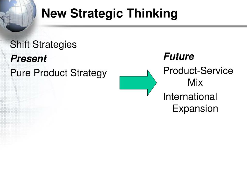 New Strategic Thinking