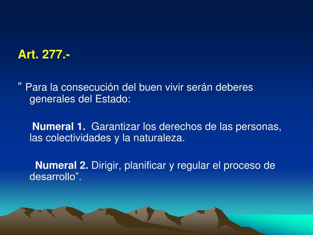 Art. 277.-
