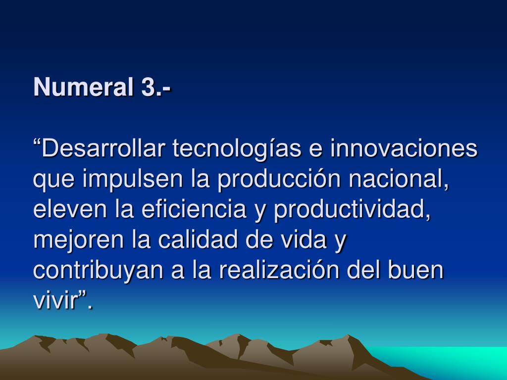 Numeral 3.-