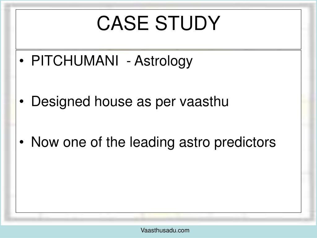 PITCHUMANI  - Astrology