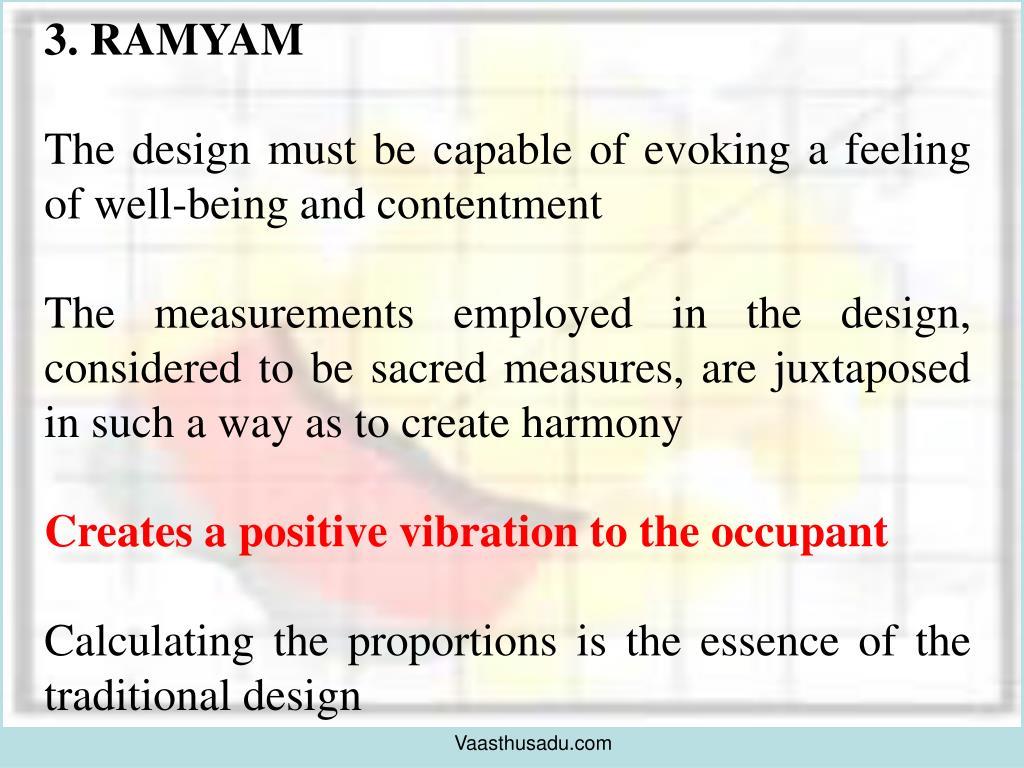 3. RAMYAM
