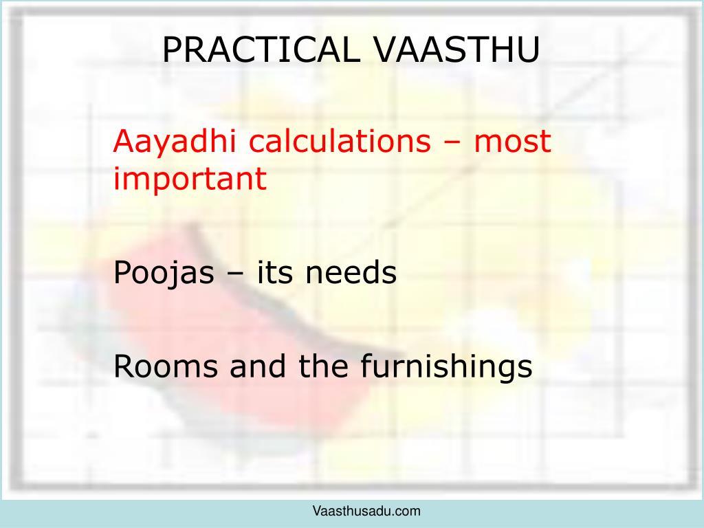 PRACTICAL VAASTHU