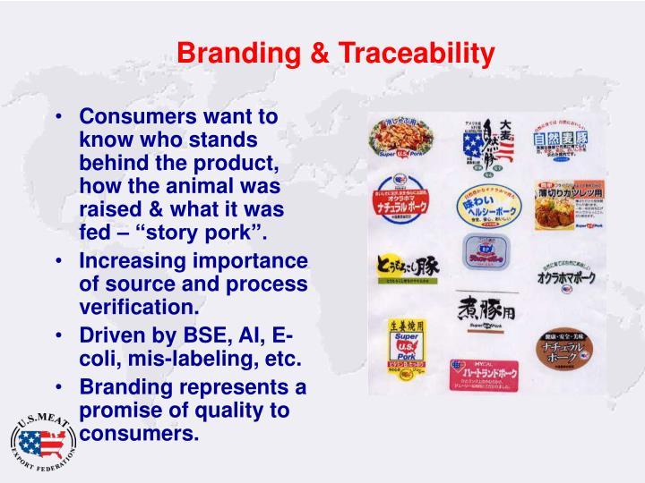 Branding & Traceability