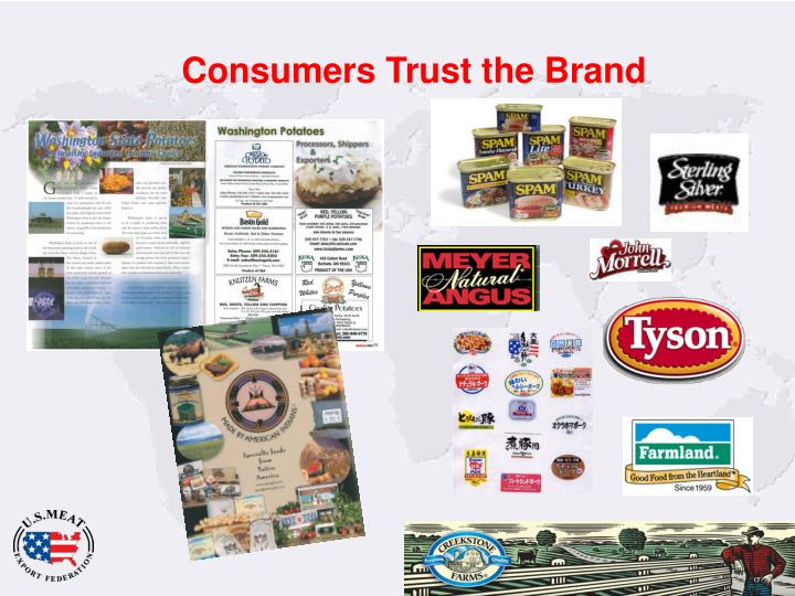 Consumers Trust the Brand