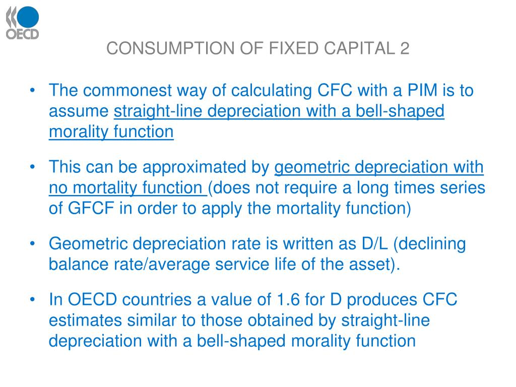 CONSUMPTION OF FIXED CAPITAL 2