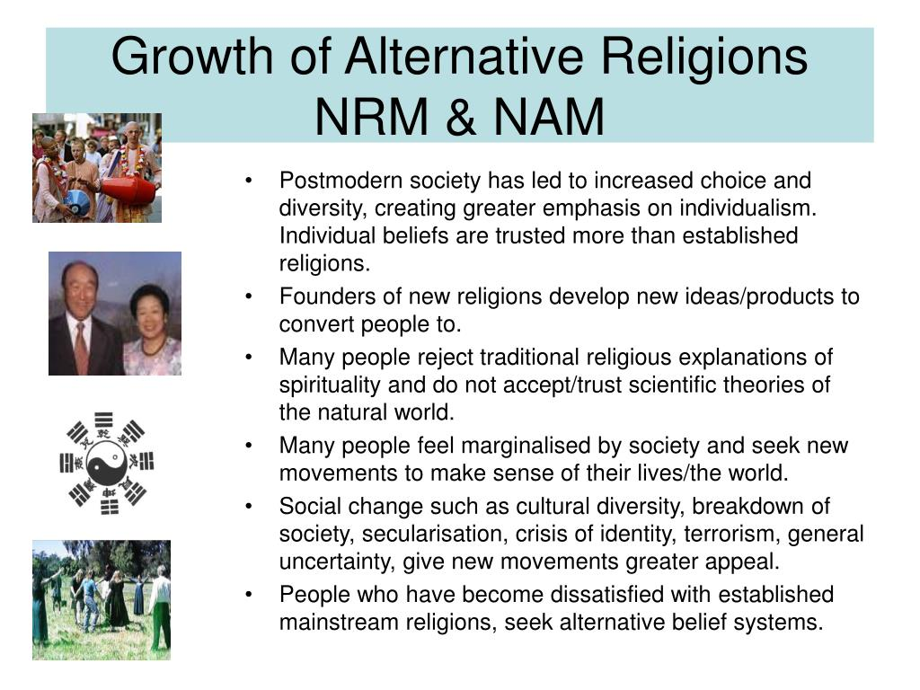Growth of Alternative Religions