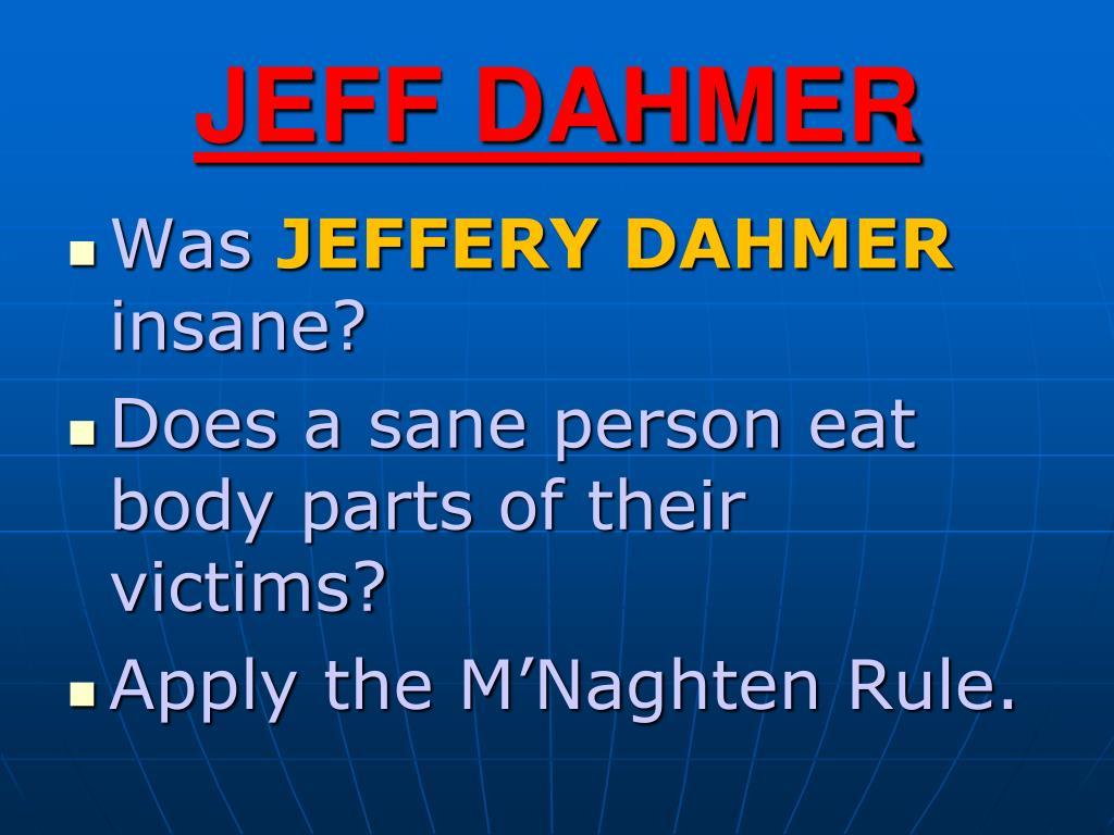 JEFF DAHMER