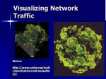 visualizing network traffic
