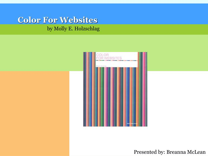 Color For Websites