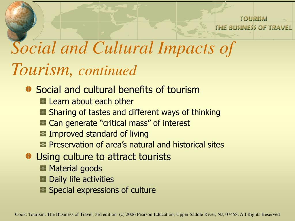 Social and Cultural Impacts of Tourism,