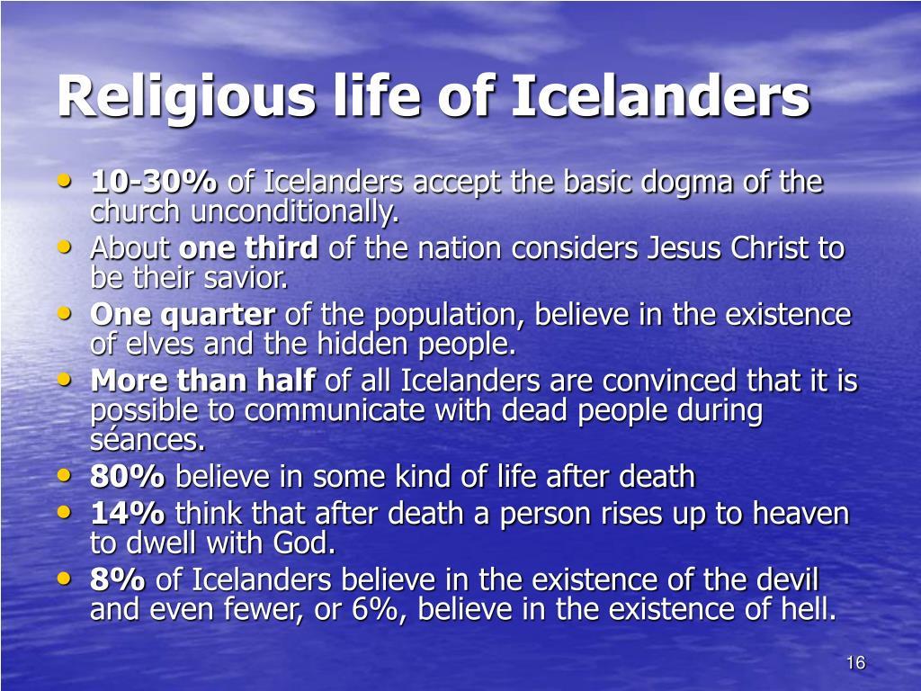 Religious life of Icelanders