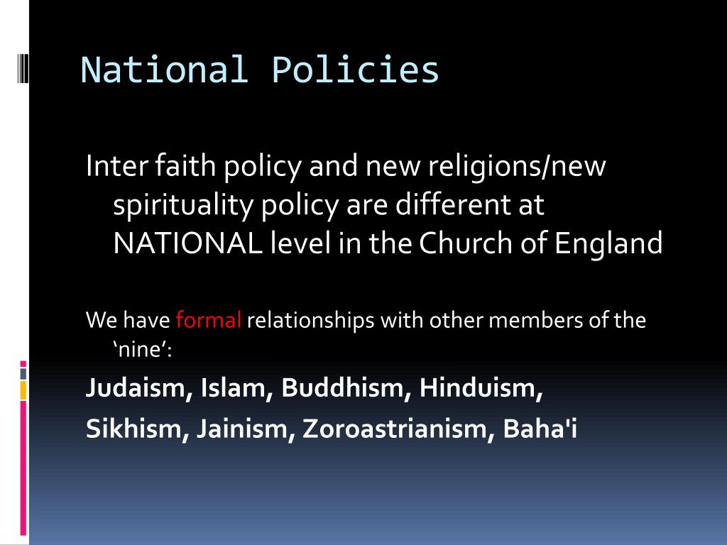 National Policies