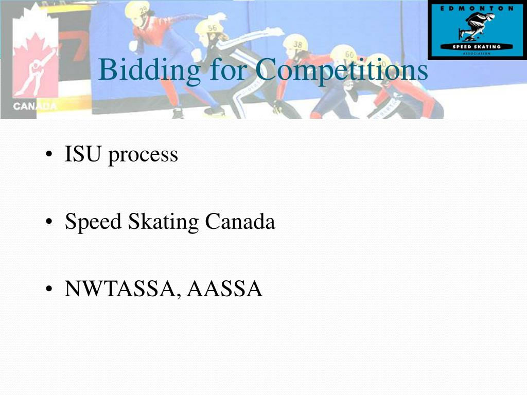 Bidding for Competitions
