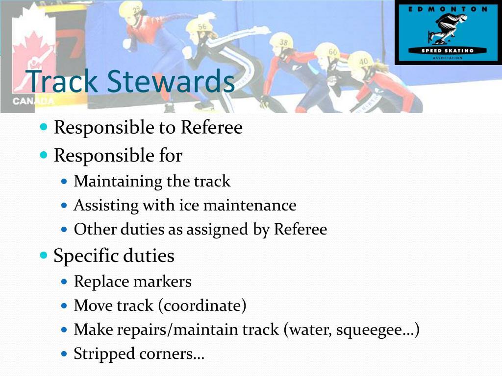 Track Stewards