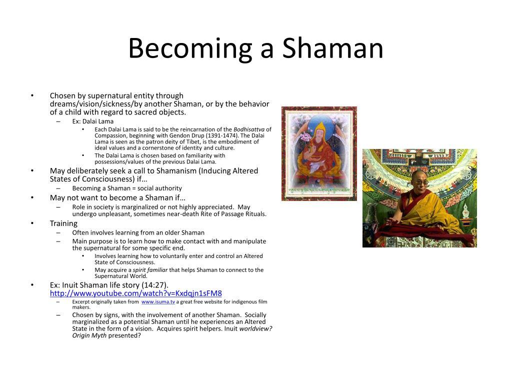 Becoming a Shaman