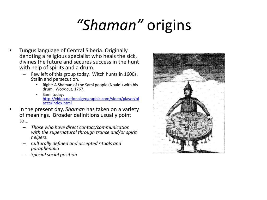 """""""Shaman"""""""