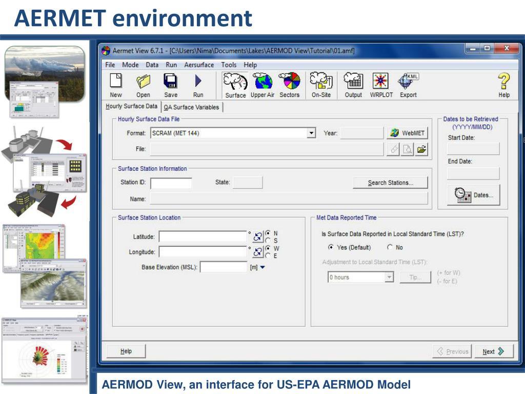 AERMET environment