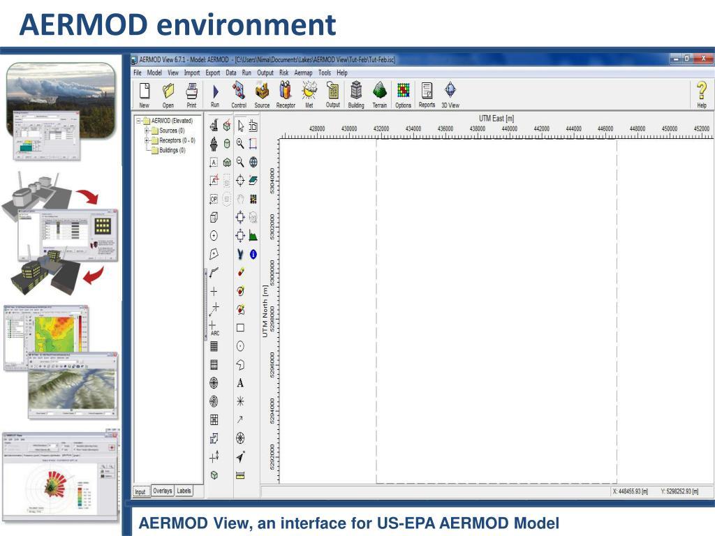 AERMOD environment