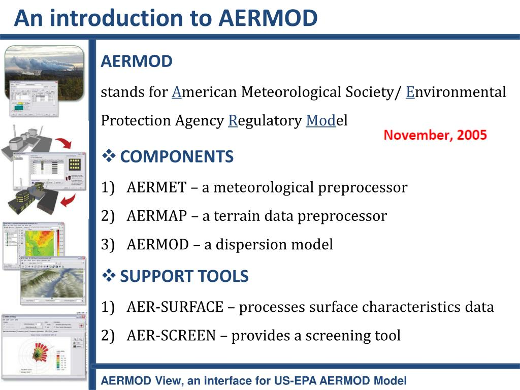 An introduction to AERMOD