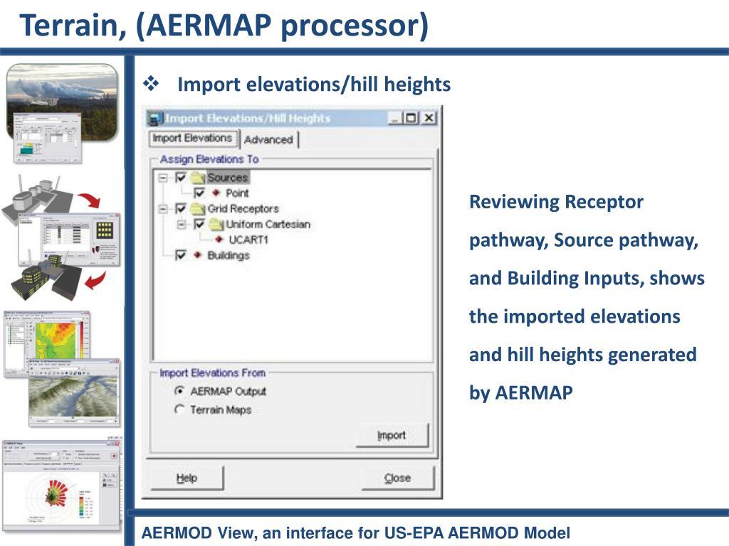 Terrain, (AERMAP processor)