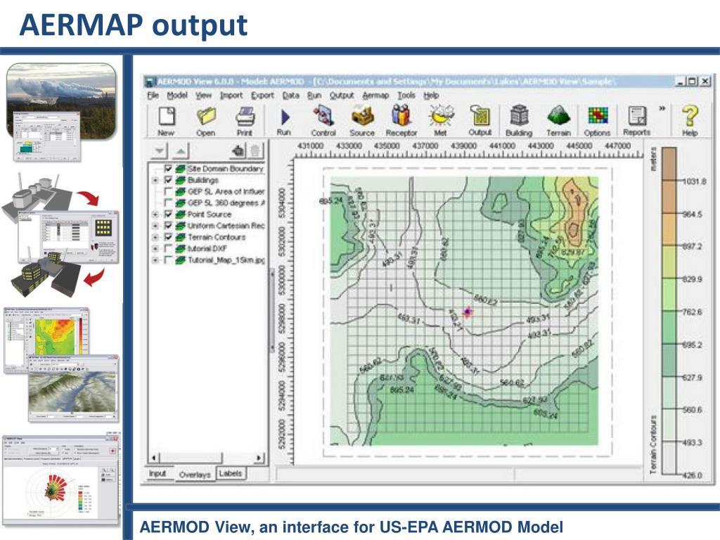AERMAP output