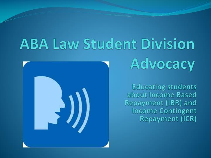 Aba law student division advocacy