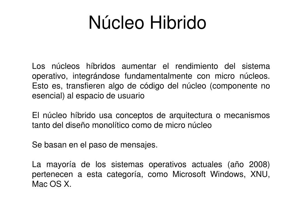 Núcleo Hibrido