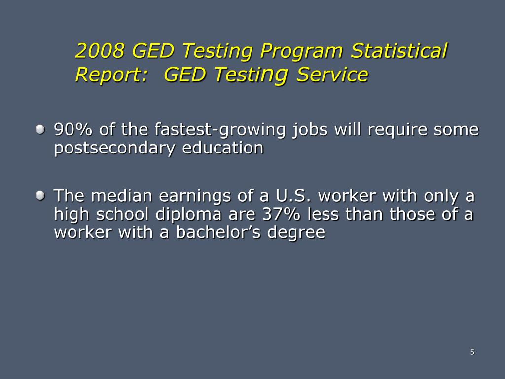 90% of the fastest-growing jobs will require some postsecondary education
