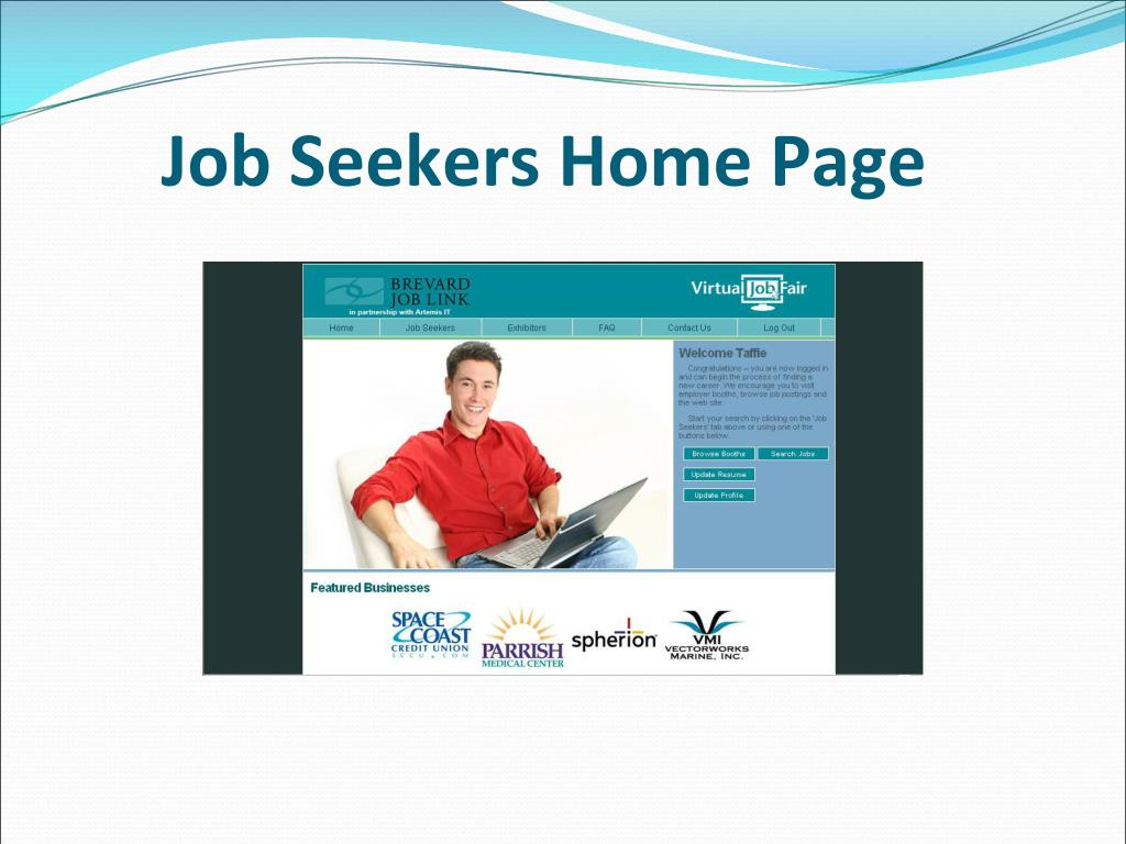 Job Seekers Home Page