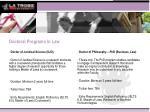 doctoral programs in law