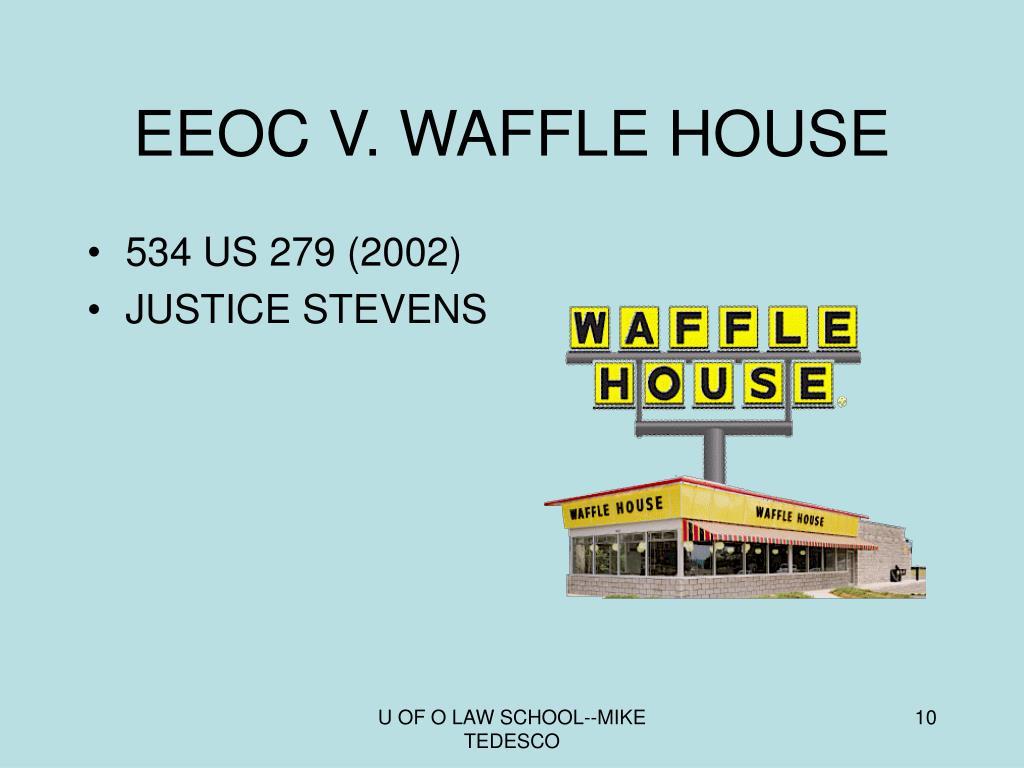 EEOC V. WAFFLE HOUSE