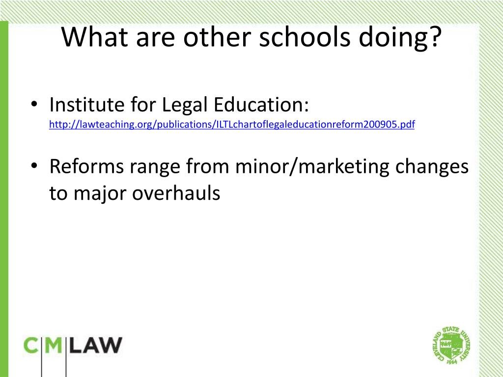 Institute for Legal Education: