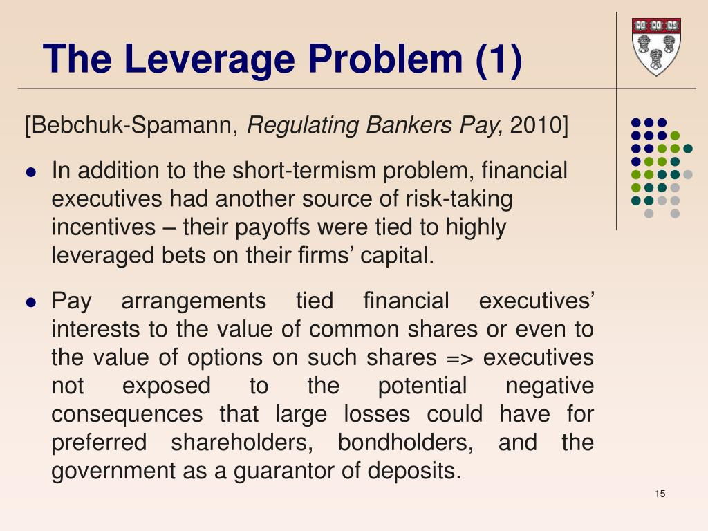The Leverage Problem (1)