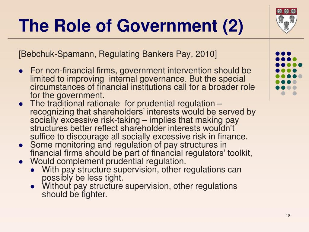 The Role of Government (2)