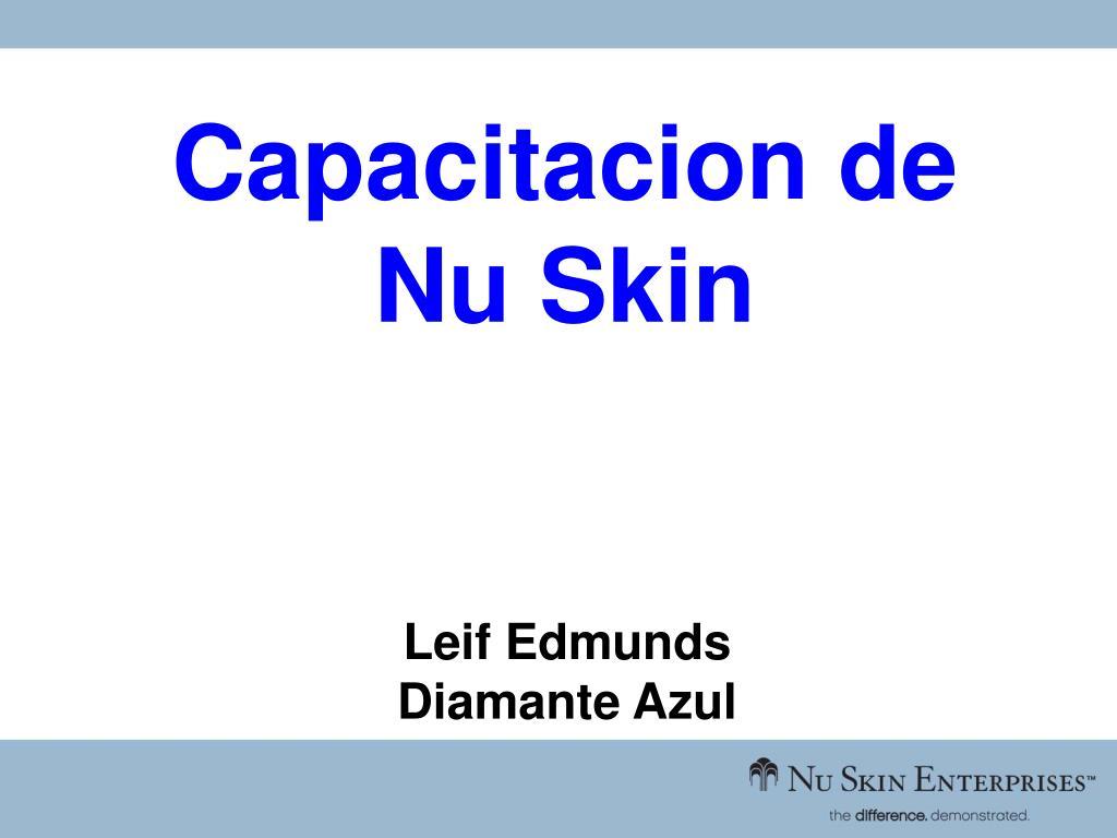Capacitacion de Nu Skin