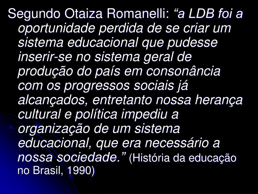 Segundo Otaiza Romanelli: