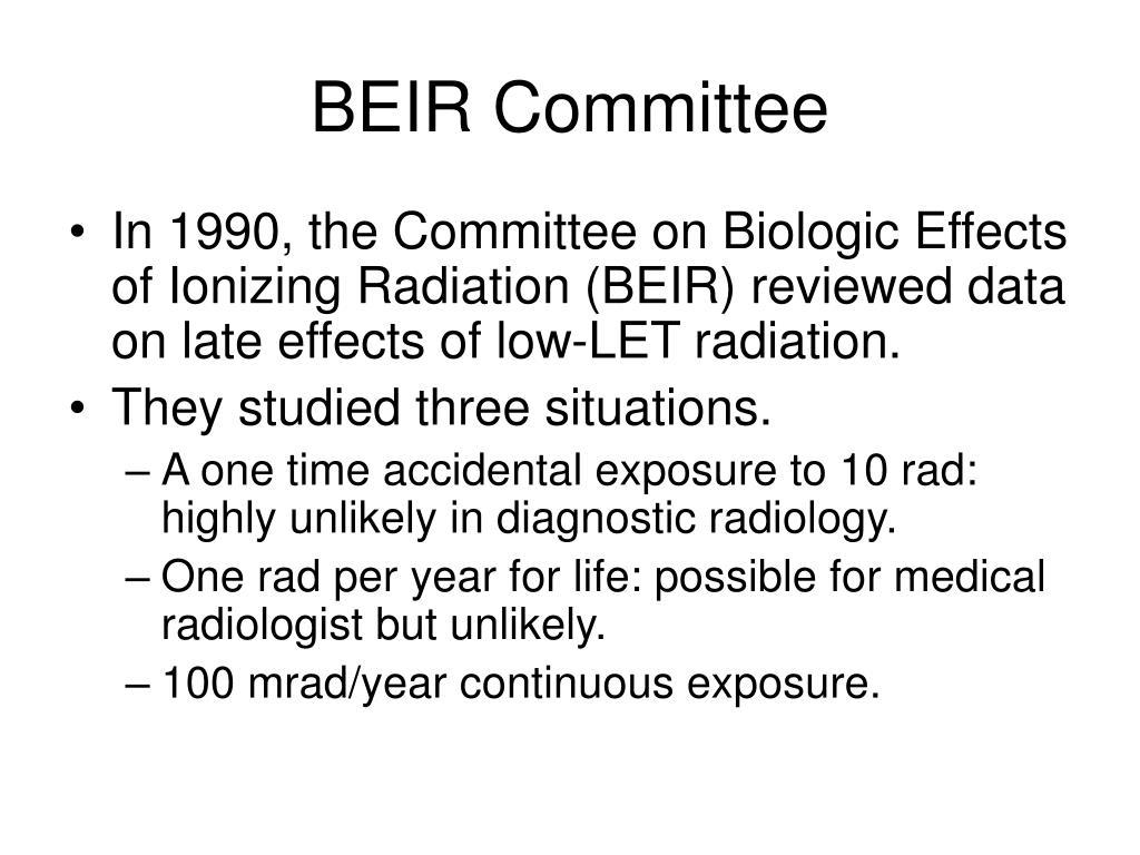 BEIR Committee