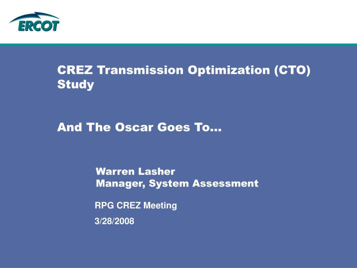 Crez transmission optimization cto study and the oscar goes to l.jpg