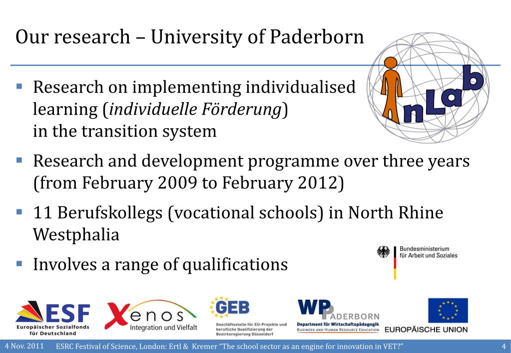 Our research – University of Paderborn