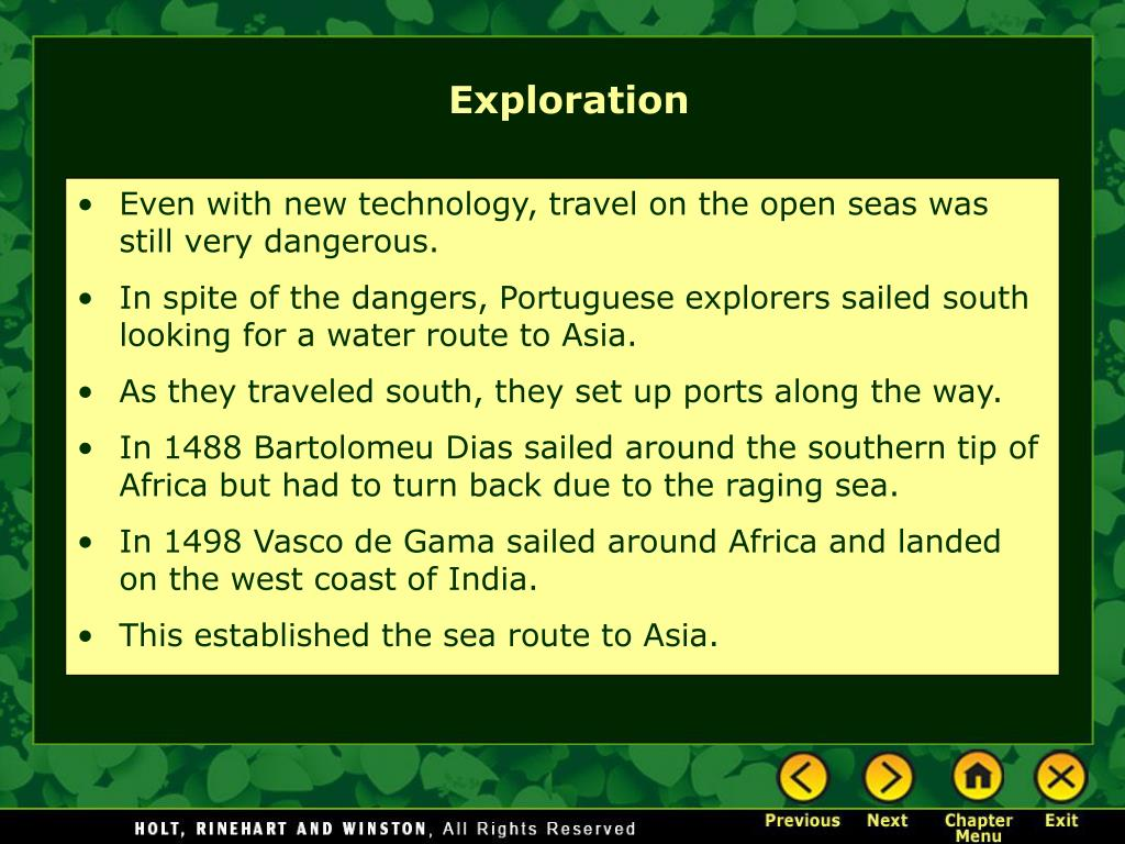 Even with new technology, travel on the open seas was still very dangerous.