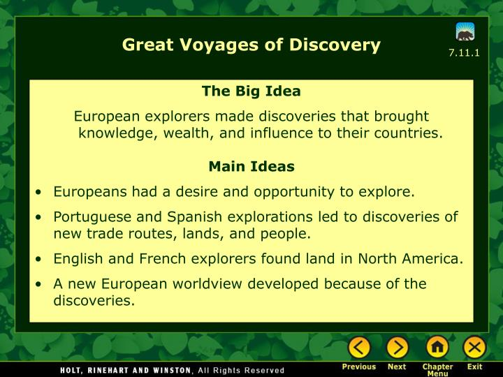 Great voyages of discovery l.jpg