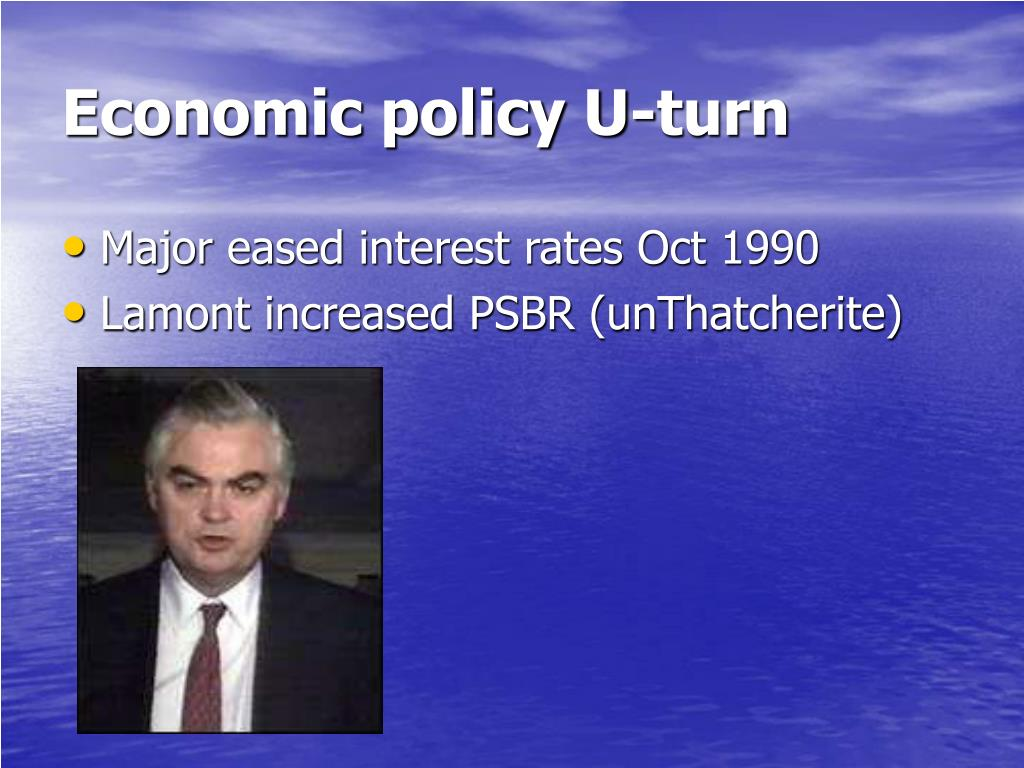 Economic policy U-turn
