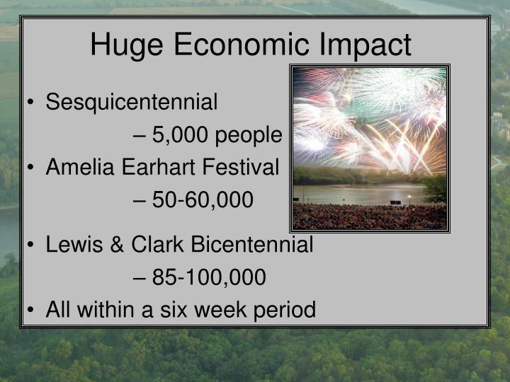Huge Economic Impact