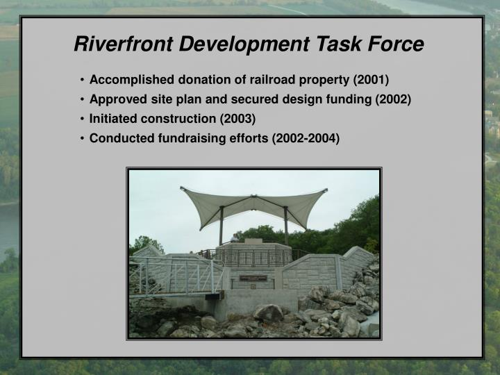 Riverfront Development Task Force