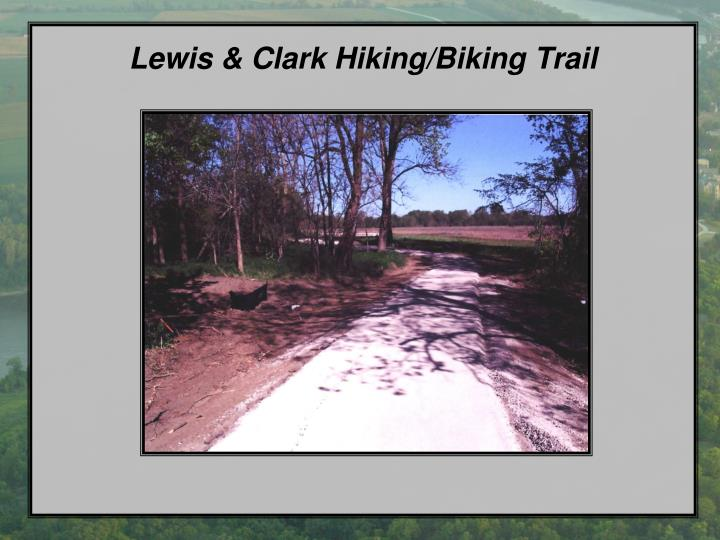 Lewis & Clark Hiking/Biking Trail