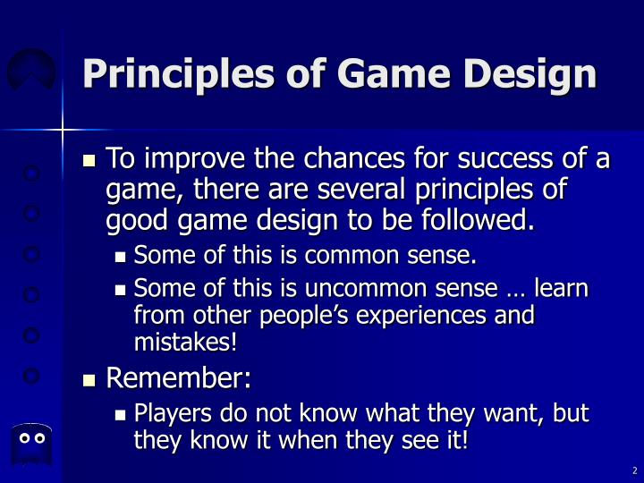 Principles of game design2
