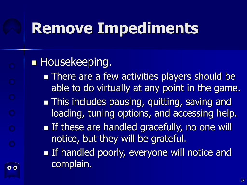 Remove Impediments