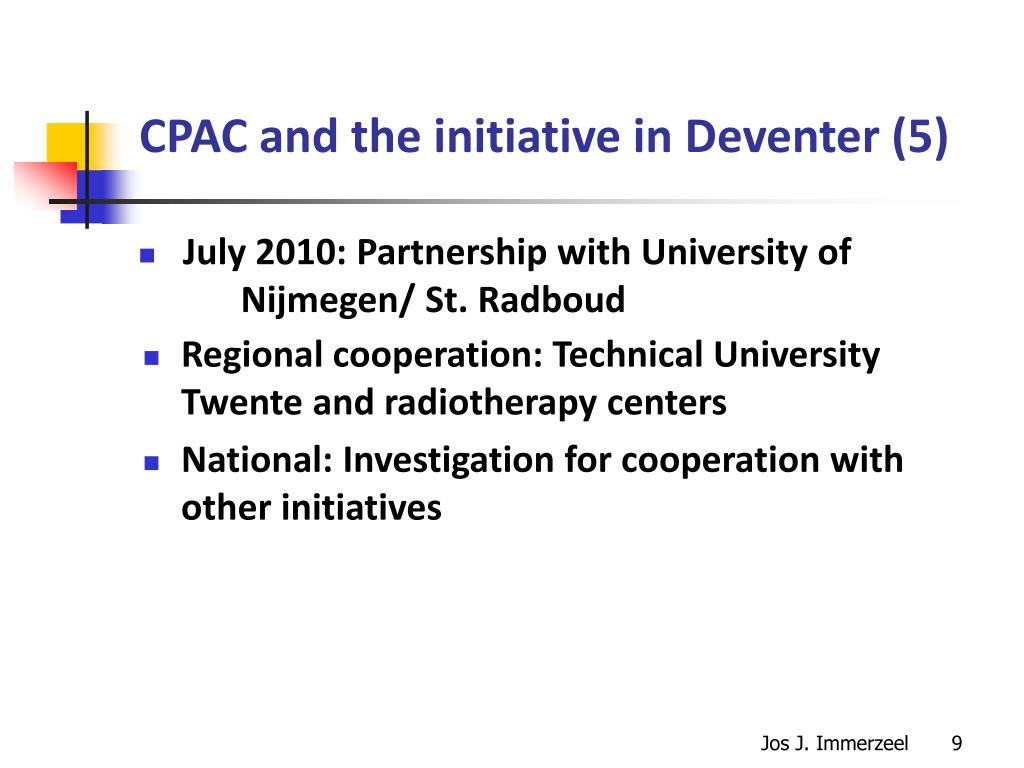 CPAC and the initiative in Deventer (5)