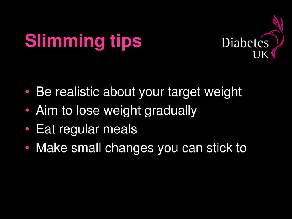 Slimming tips