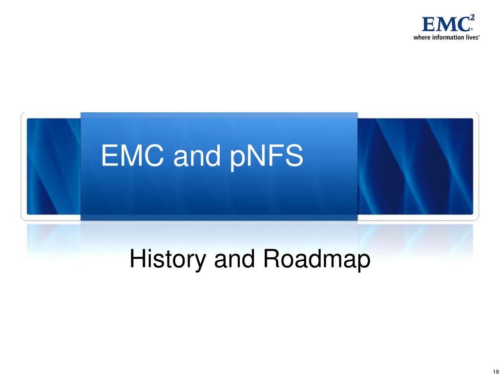 EMC and pNFS